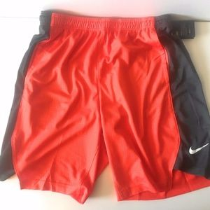 Nike Men's Large Practice Shorts Team Orange M7368